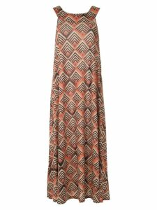 Lygia & Nanny Manati printed dress - ORANGE