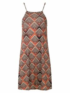 Lygia & Nanny Iris printed dress - ORANGE