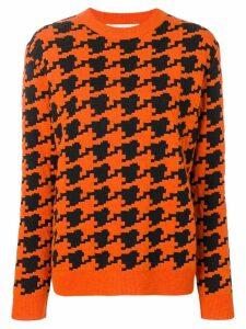 Marni dog tooth jumper - Orange