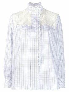 Sandro Paris Daril blouse - White