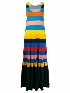Chinti and Parker colour block shift dress - Blue
