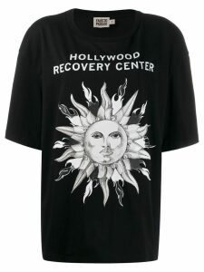 Fausto Puglisi 'Hollywood Recovery Center' T-shirt - Black
