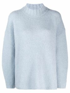 3.1 Phillip Lim Drop Shoulder Sweater - Blue