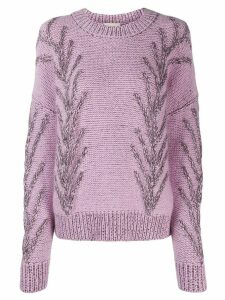 Marco De Vincenzo knitted jumper - PINK