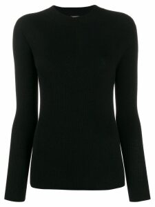 Stefano Mortari long-sleeve fitted sweater - Black