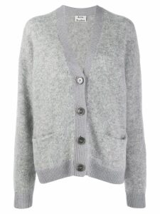 Acne Studios grandpa relaxed-fit cardigan - Grey