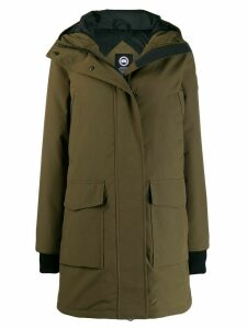 Canada Goose padded camouflage coat - Green