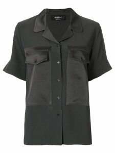 Rochas flap pocket shirt - Green