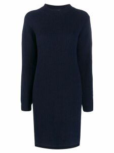 Acne Studios ribbed knit dress - Blue