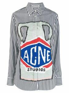 Acne Studios ceramic print shirt - Black