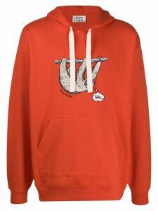 Acne Studios animal embroidered hoodie