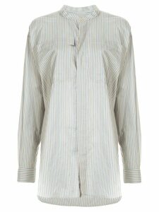 Bassike striped tunic - Blue