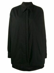 Mm6 Maison Margiela shirt padded jacket - Black