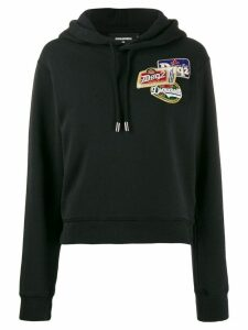 Dsquared2 hooded logo sweat shirt - Black