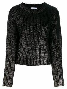 Dondup metallic sheen detail sweater - Black