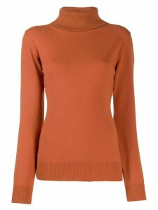 Fabiana Filippi turtle neck jumper - Brown