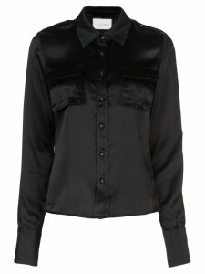 Alexis loose waist blouse - Black