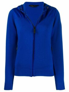Canada Goose zipped hooded cardigan - Blue