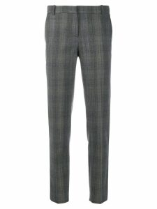 Kiltie plaid print trousers - Grey