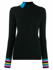 Chinti and Parker roll neck jumper - Black