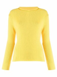 Ermanno Scervino fine knit sweater - Yellow