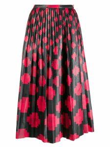 Marni pleated midi skirt - Black