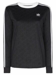 adidas Originals long-sleeve T-shirt - Black