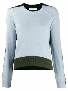 Dorothee Schumacher colour block design jumper - Blue