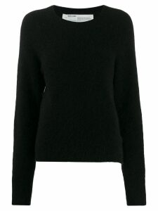Off-White contrast stitched jumper - Black
