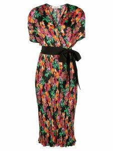 Diane von Furstenberg floral print wrap dress - Multicolour