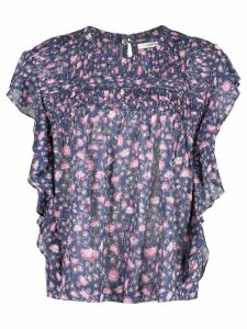 Isabel Marant Étoile floral print blouse - PURPLE