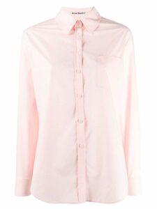 Acne Studios boyish fit shirt - PINK