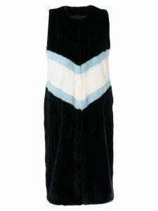 La Seine & Moi Diane vest coat - Blue