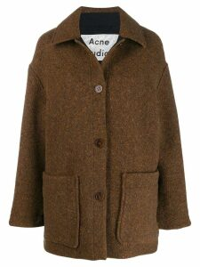 Acne Studios cocoon coat - Brown