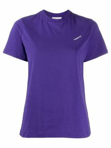 Coperni printed logo T-shirt - PURPLE