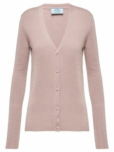 Prada knitted cardigan - NEUTRALS