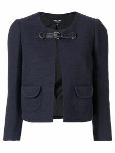 Paule Ka front buckle jacket - Blue