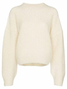 Le Kasha balloon-sleeved jumper - NEUTRALS