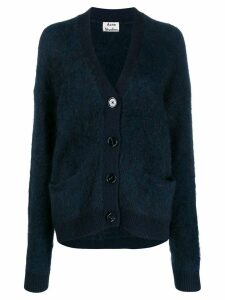 Acne Studios Rives Mohair cardigan - Blue