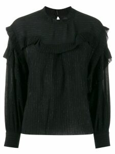 Isabel Marant Moyra ruffled blouse - Black