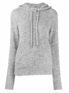 Helmut Lang hooded jumper - Grey