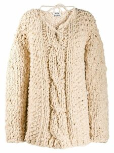 Acne Studios chunky cable-knit jumper - NEUTRALS