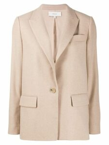 Vince single breasted coat - Brown