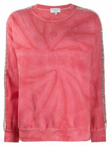 Collina Strada tie-dye sweatshirt - Red