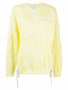 Collina Strada tie-dye sweatshirt - Yellow