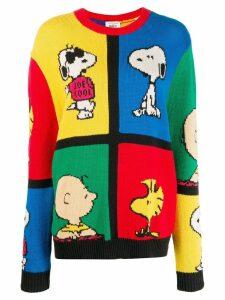 Chinti & Parker Peanuts colour-block jumper - Blue