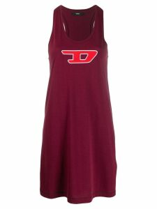 Diesel longline vest top - Red