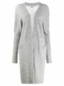 Acne Studios open front cardigan - Grey