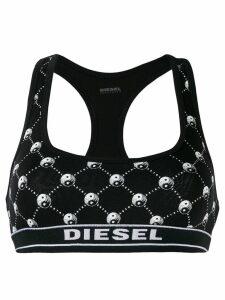 Diesel Yin Yang cropped top - Black