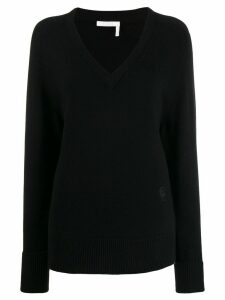 Chloé knitted sweatshirt - Black